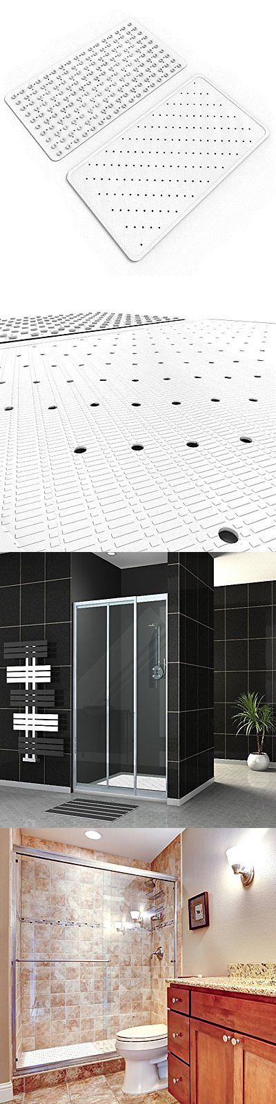 Non-Slip Appliques and Mats 66722: Non Slip Bathtub Mat Saftey Shower Floor Rubber 150 Suction Cups Antibacterial -> BUY IT NOW ONLY: $58.12 on eBay!