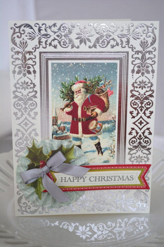 Christmas Card  3D  Multi layered  Anna Griffin by allthingsbrandy, $4.50