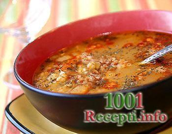 Рецепт-Постный суп из чечевицы | Постные блюда