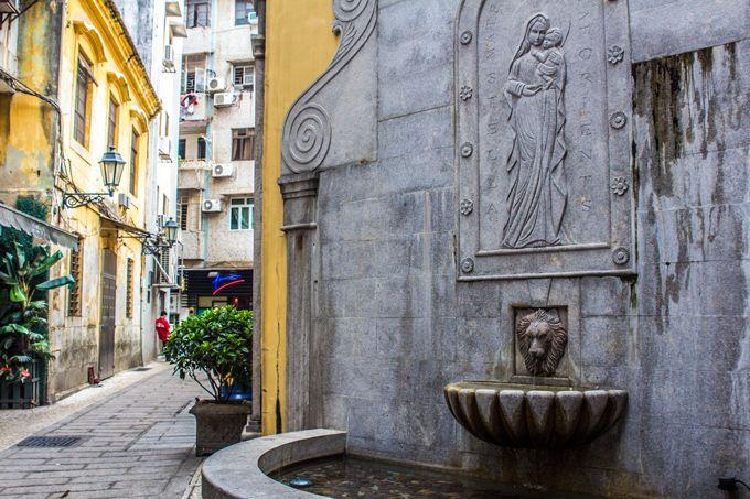 The Cobblestone Streets of Macau