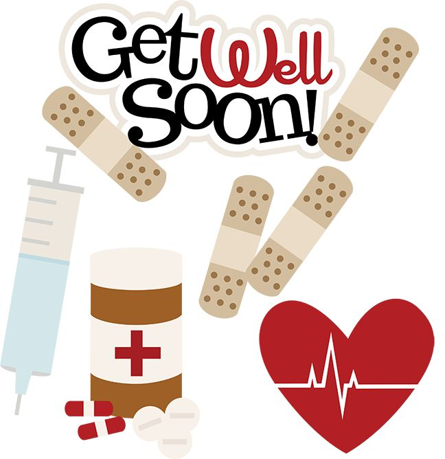 Get Well Soon SVG doctor svg files nurse svg files sick ...