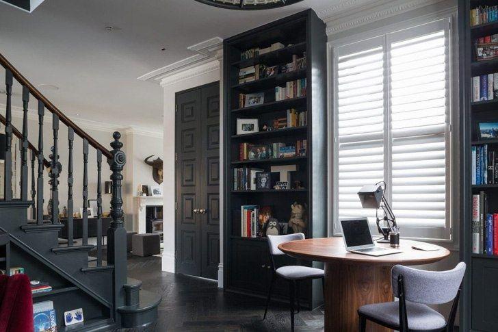 Обновленный викторианский таунхаус в Лондоне - Дизайн интерьеров   Идеи вашего дома   Lodgers