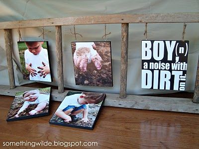 Dirty Pics and a PRINTABLE  I made a version of this with pallet wood & used it as one of Spencer's graduation photo boards