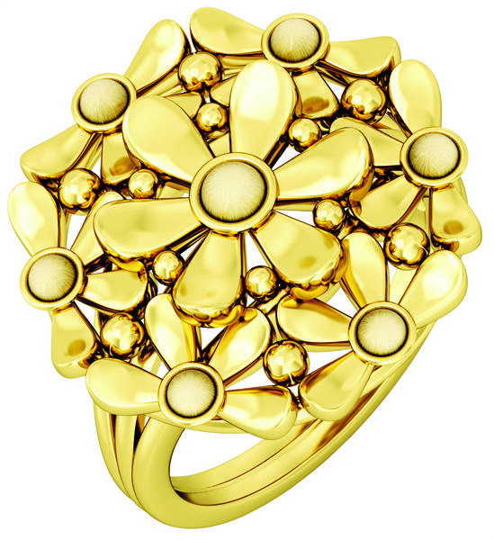 Perfect ring for a brunch party