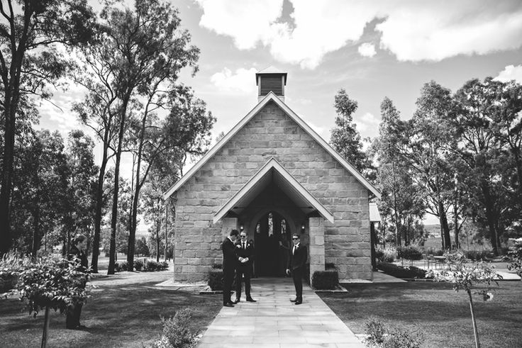 The Carriage House Chateau Elan Hunter Valley Wedding Ceremony.  Image: Cavanagh Photography http://cavanaghphotography.com.au