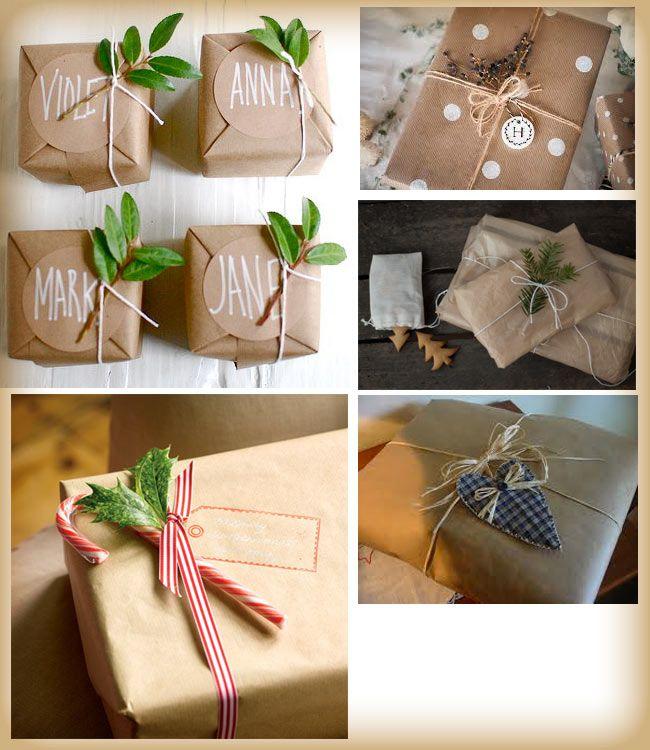 Pacchi di Natale fai da te, belli e creativi: spunti e idee per packing originali.