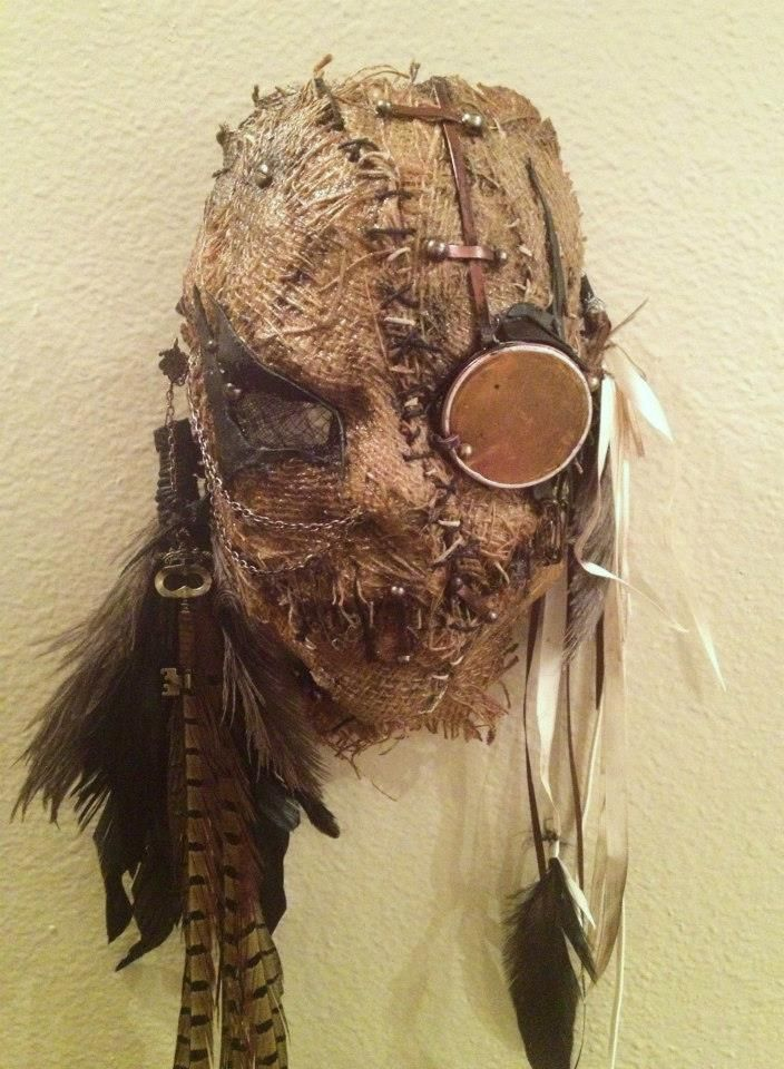steampunk scarecrow mask | Flickr - Photo Sharing!