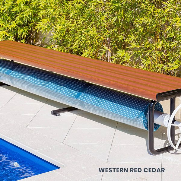 Under Bench Roller With Images Pool Cover Pool Gazebo Pool