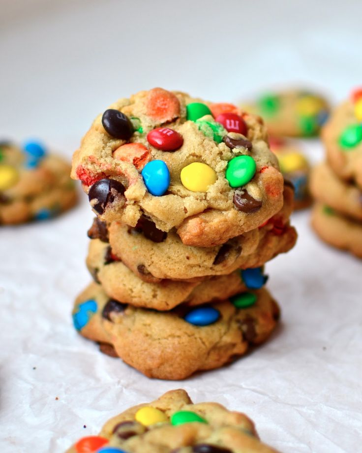 Yammie's Noshery: The Fat Chewy {M&M Cookies}
