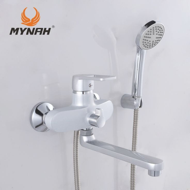 (48.37$)  Buy here  - MYNAH Russia free shipping Classic Style Bathroom Shower Faucets Bathtub Faucet Mixer Tap With Hand Shower Sets shower faucet