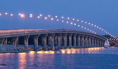 sailboat bridge grove oklahoma | FIGG Long Bridges Over Water