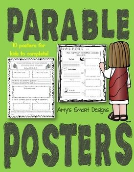 Parables Of Jesus Posters Parables Of Jesus Parables Bible Lessons
