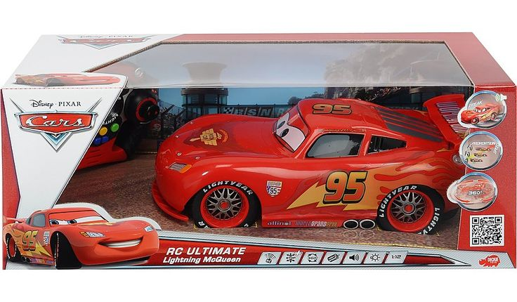 Disney Cars Remote Control Lightning McQueen Racing Car, read reviews and buy online at George at ASDA. Shop from our latest range in Kids. Win the cup and r...