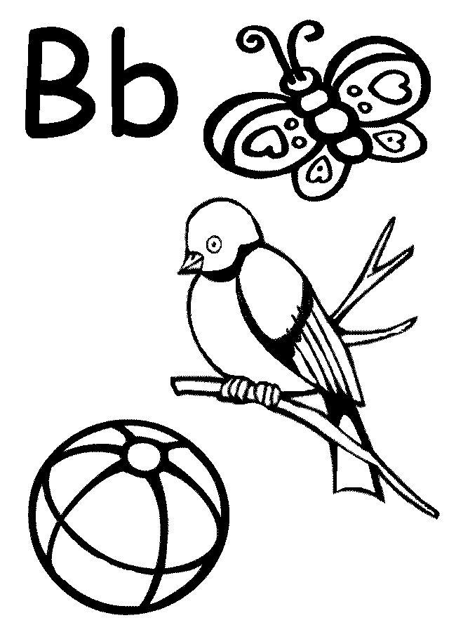 7 best letter b worksheets images on pinterest letters writing and kindergarten. Black Bedroom Furniture Sets. Home Design Ideas