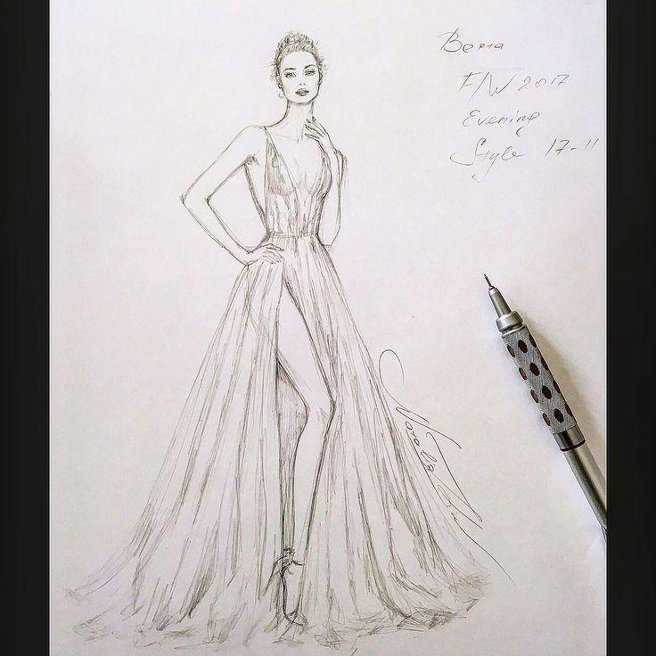 #WorkinProgress #Unfinished #Berta #Evening #gown @berta ✨ #handdrawn #sketch #pencil #sketching #fashionillustration #art #event #bridal #wedding #tulle #dress #платье #drawing #иллюстрация #instafashion #рисунок #nataliazorinliu #fashion #draw #followme #blogger #follow #illustration #chic #fashionista