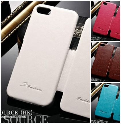 Retro iPhone 5 Leather Case