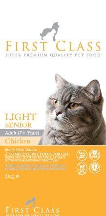 Fırst Class Light Senior Yaşlı Kedi Maması 2 kg  http://www.avistanbul.com.tr/asp/product/62662/First-Class-Light-Senior-Yasli-Kedi-Mamasi-2-kg