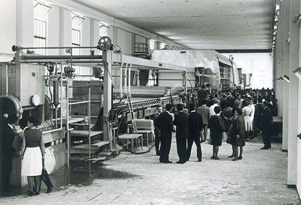 #Inauguration #paper #machine 3 - Rossano Veneto 1963