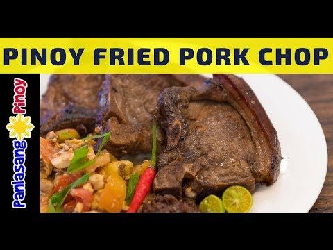 Filipino Fried Pork Chop with Tomato and Salted Egg is a simple dish that you ca…