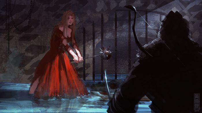 lady-in-red-digital-painting-tutorial.jpg (700×394)
