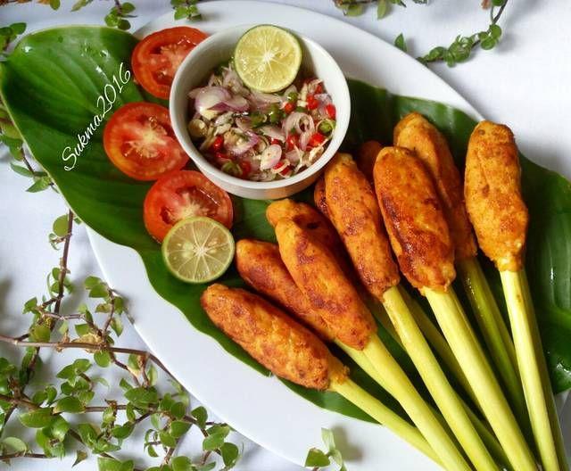 Resep Sate Lilit Ayam Oleh Sukmawati Rs Resep Resep Resep Masakan Malaysia Food Design