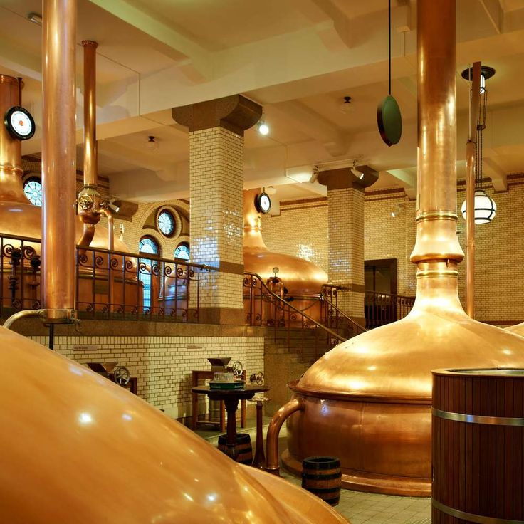 Heineken brewery, Amsterdam. Heineken's brewery has transformed into a sensational interactive tour through the dynamic world of the famous beer