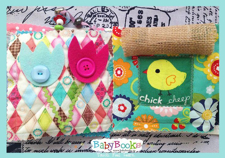 Baby Quiet Book Page Activities