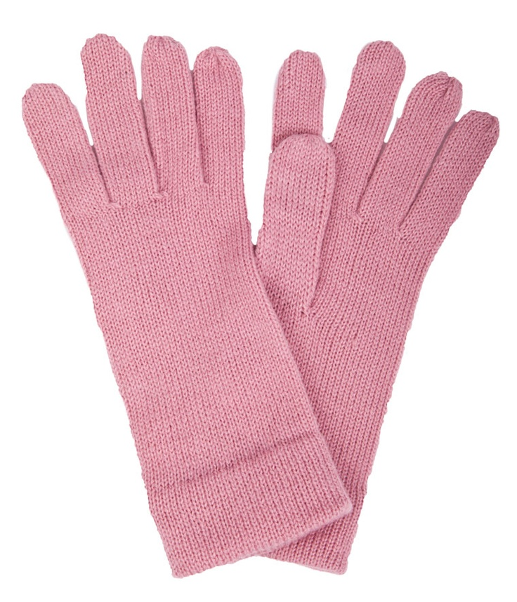 PLAIN COLOR KNITTED GLOVES