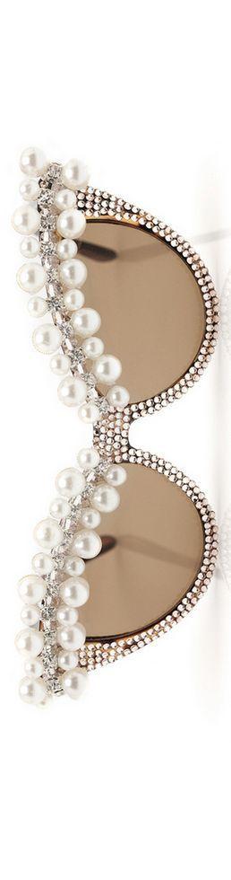 queenbee1924:A-Morir 'Lena' Sunglasses Spring 2012, designer Kerin Rose via ♥ Pearls ♥ Diamonds ♥ via: