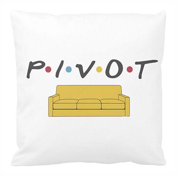 Pivot Couch Pillow Cover, Friends TV Show Theme Decor, Ross Geller Quote Pillow, TV Show Bedroom Decor, Friends Show Decor, David Schwimmer