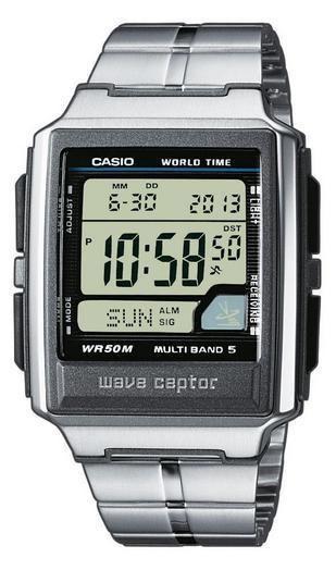 Casio WV-59DE-1AVEF Wave Ceptor heren horloge op Horlogeloods.nl!