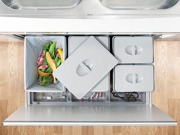 Kjøkken i JM boliger med integrerte hvitevarer