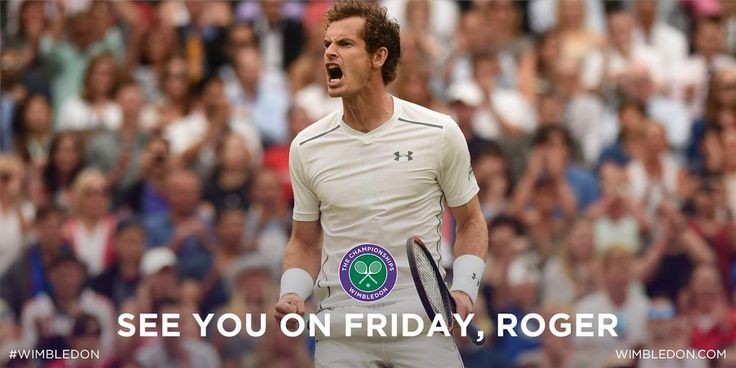 It's a 150th Grand Slam match win for @andy_murray - he sees off Pospisil 6-4, 7-5, 6-4. Next up: Federer #Wimbledon