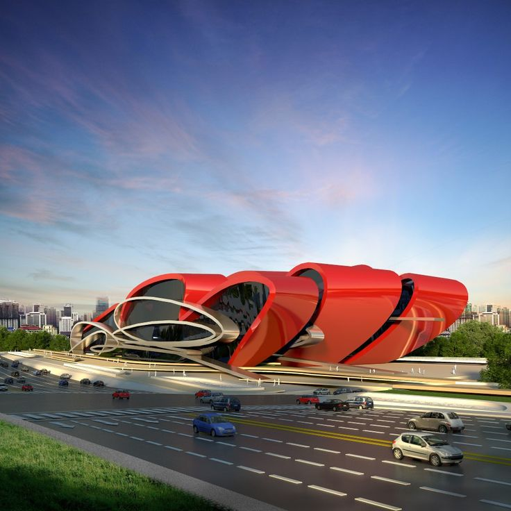 83 best car display center images on pinterest showroom for Car showroom exterior design