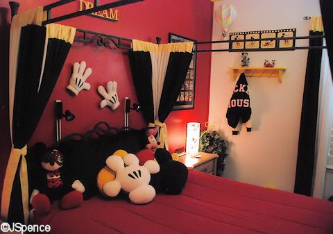 Mickey Mouse Suite... I really really want this, however I know my husband would never allow it...lol