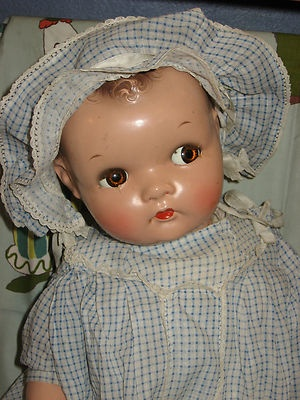 Vintage Ideal Composition Character Baby Doll Flirty Follow Me Eyes Compo