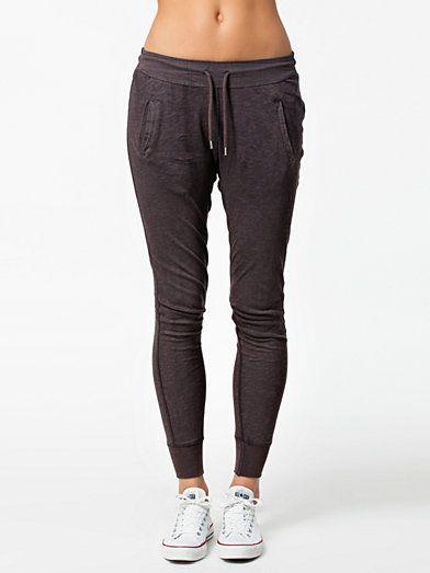Picass Jersey Pants - Vila - Grau - Hosen & Shorts - Kleidung - Frau - Nelly.at Mode Online