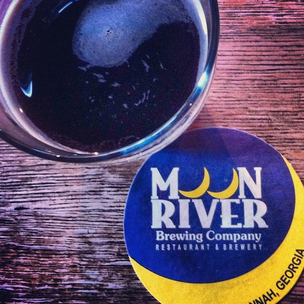 Try some local beer at Moon River Brewing Company in Savannah: Moon River