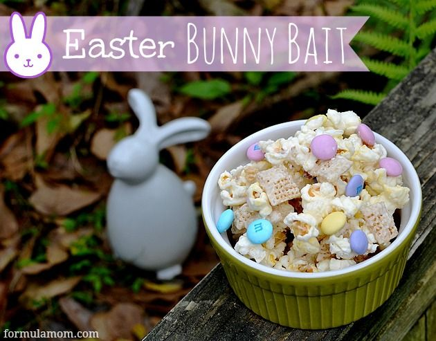 Looking for easy Easter Treats? Try making this simple Bunny Bait snack mix! But watch out for those cottontails or you might have to share!