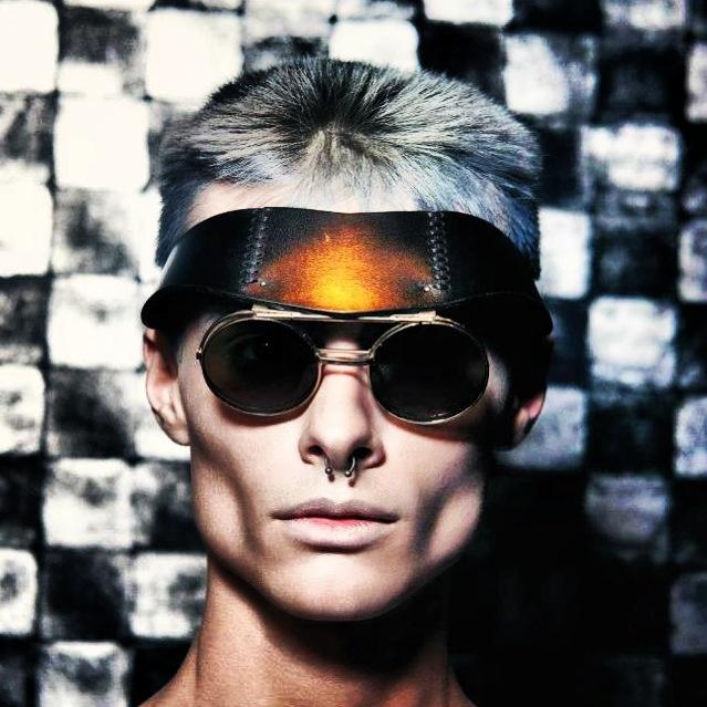 Leather Sunglasses  Design: Hatice GÖKÇE