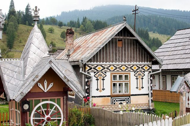 Jurnal de Navetist: Ciocăneşti: un villaggio come un uovo di Pasqua