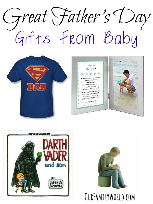 Best Gifts For First Time Dads Part - 41: Great Fatheru0027s Day Gifts From Baby