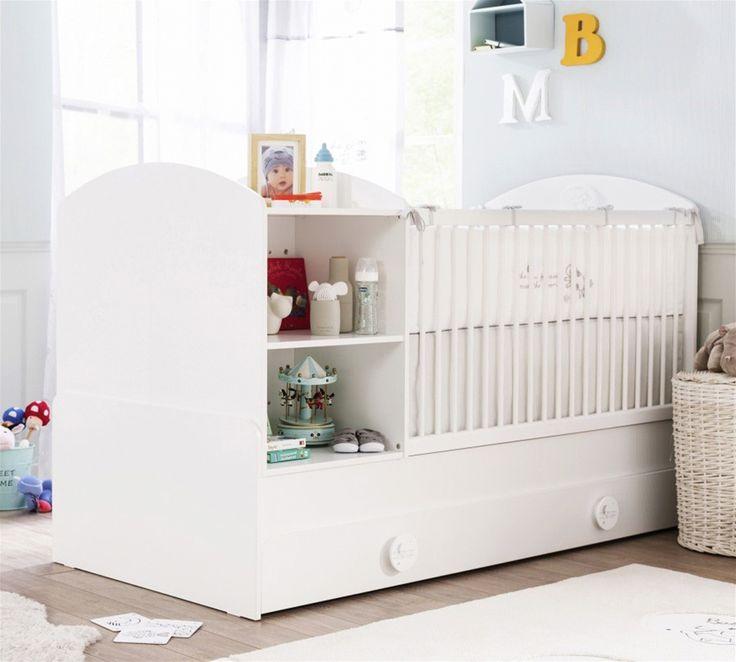 Babybett 4 tlg. Babycotton mit Bettschubkasten günstig kaufen   smartvie