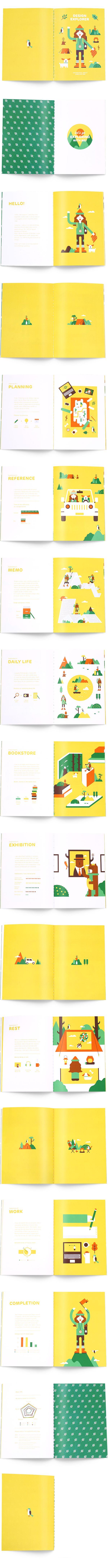 Design Explorer - Infographic & Illustration about me on Behance