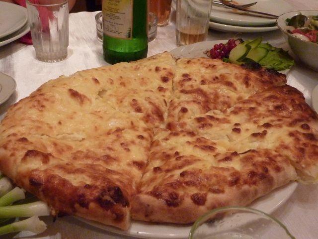 Khachapuri. Georgian Cheese Bread
