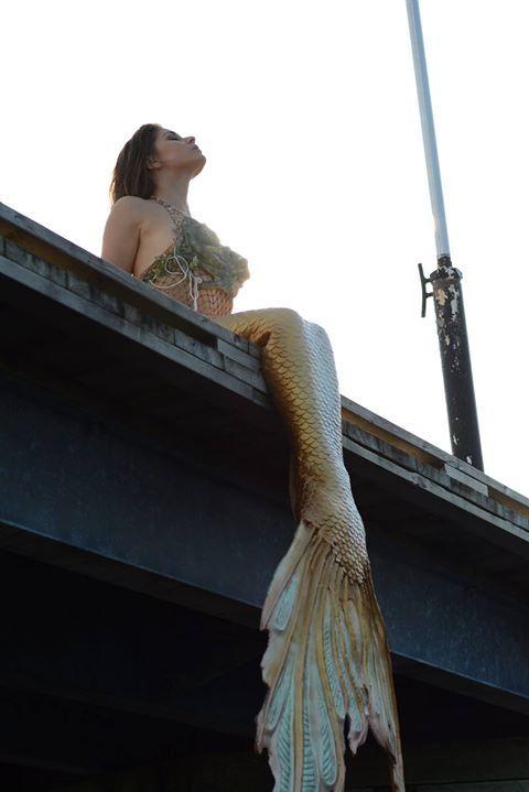 Halifax mermaid silicone mermaid tail by Merbella studios inc