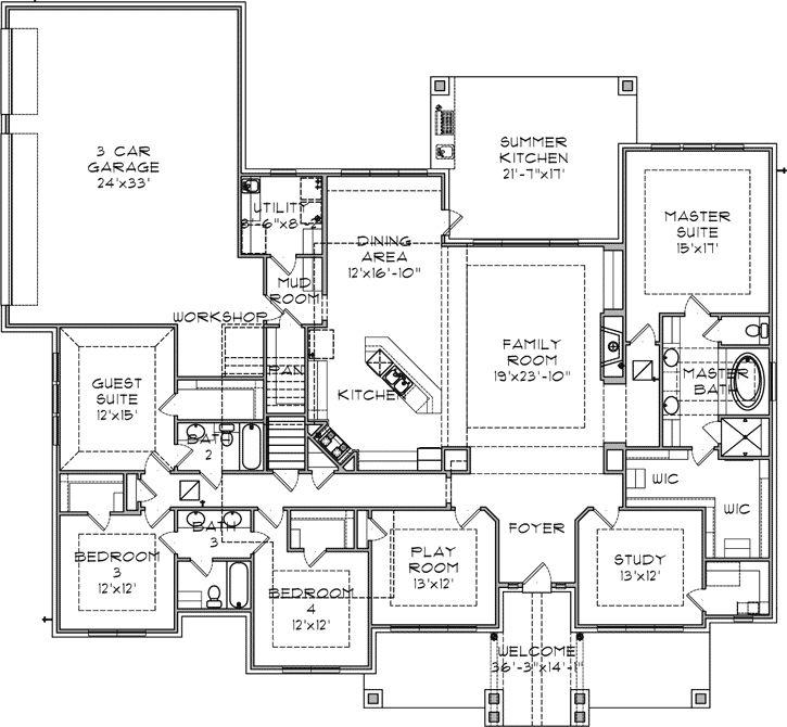 214 best floor plans images on pinterest | house blueprints, house