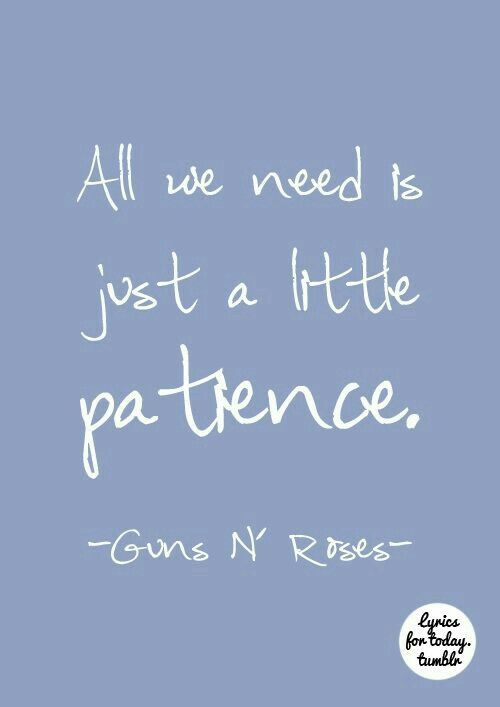 Patience by Guns n' Roses