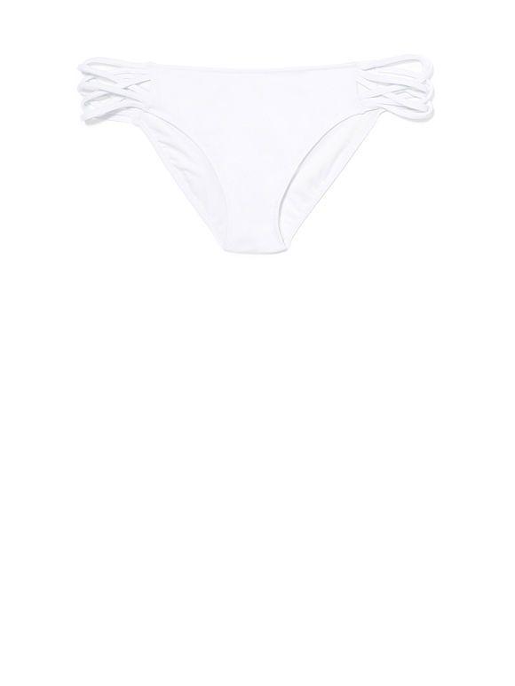 Strappy Side Bikini - triumph white