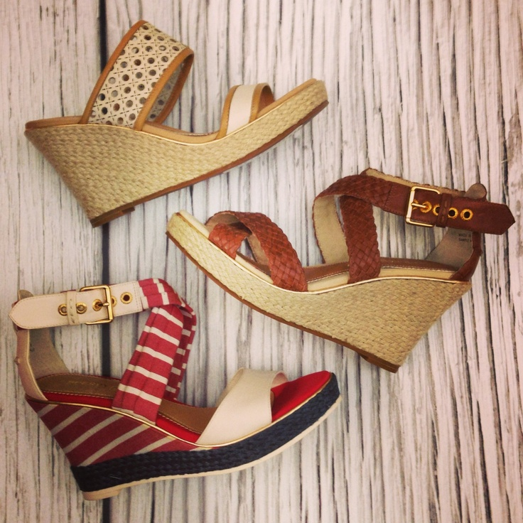 We're dreaming of warmer weather.: Shoes Ahol, Wedges Heels, Sperry Wedges, Wedges Wedges, Warmers Weather, Summer Shoes, We R Dreams, Wedges Sandals, Summer Wedges